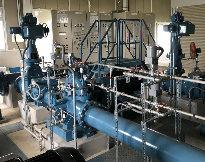灌漑排水設備