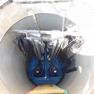 農集排巴中部Ⅱ期地区中継ポンプ設置工事